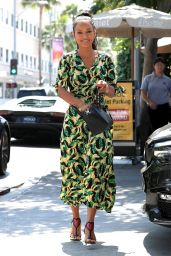 Karrueche Tran - Leaving Il Pastaio in Beverly Hills 08/27/2018