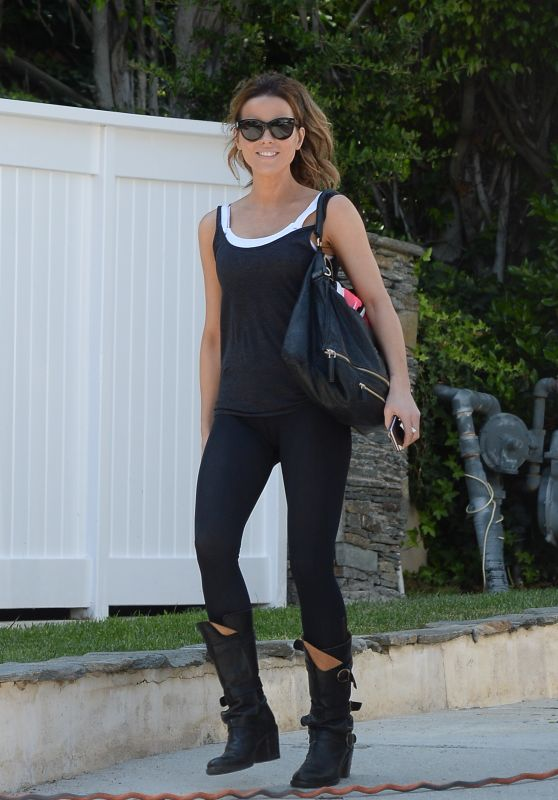 Kate Beckinsale - Leaving a Gym in LA 08/16/2018