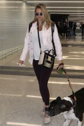 Kate Upton in Travel Outfit - LAX 08/27/2018