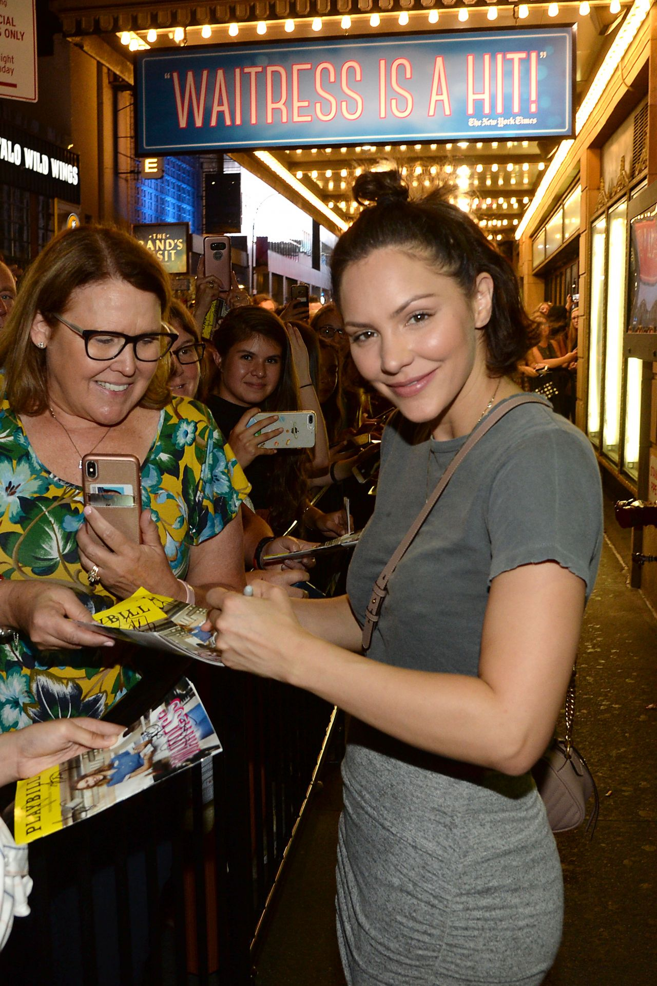 Katharine Mcphee After Starring In The The Broadway Musical Waitress In Nyc 08 18 2018