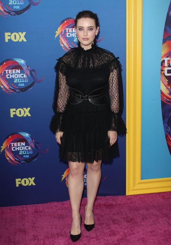 Katherine Langford – Teen Choice Awards 2018