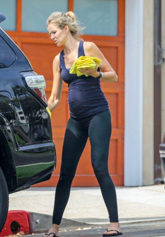 Kathryn Boyd - Washing Her Car in Los Angeles 08/17/2018