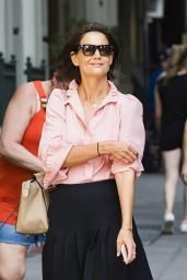 Katie Holmes - Out in NYC 08/08/2018