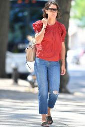 Katie Holmes - Out in NYC 08/29/2018