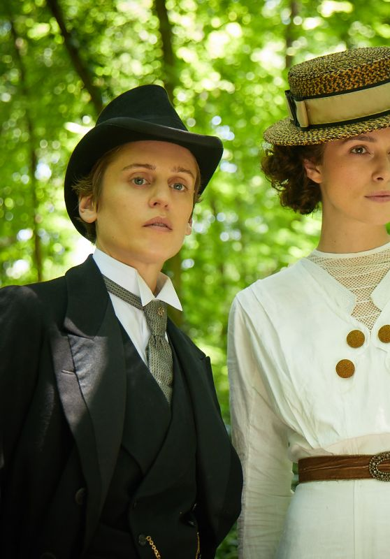 "Keira Knightley and Eleanor Tomlinson - ""Colette"" Photos and Poster"