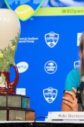Kiki Bertens - 2018 Western and Southern Open in Cincinnati Winner 08/19/2018