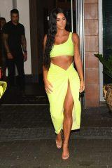 Kim Kardashian - Goes a Party in Miami 08/17/2018
