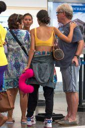 Kim Turnbull at Barbados