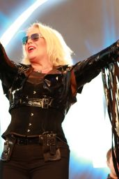 Kim Wilde - Rewind Festival in Thames, UK 08/19/2018