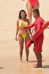Kourtney Kardashian in Bikini on the Beach in Cabo 08/24/2018