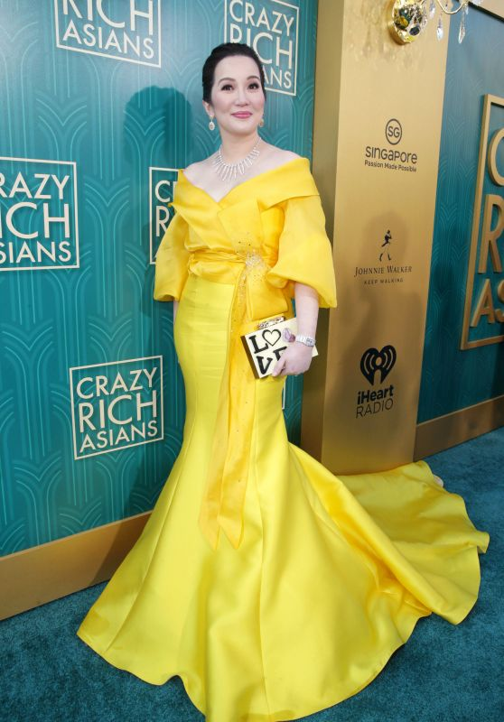 "Kris Aquino – ""Crazy Rich Asians"" Premiere in LA"
