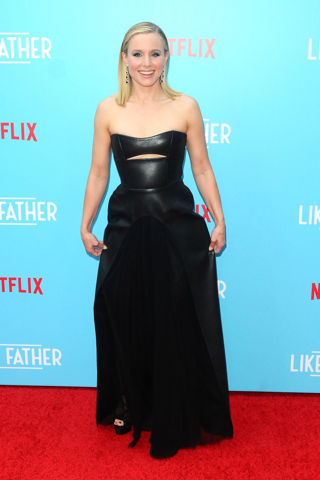 Kristen Bell Quot Like Father Quot Premiere In Hollywood