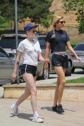 Kristen Stewart and Stella Maxwell - Out in Los Angeles 08/20/2018