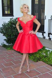 Kristin Chenoweth in Red Dress - Los Angeles 08/17/2018
