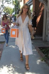 Kristine Leahy - Leaving the Kate Somerville Launch Party in West Hollywood