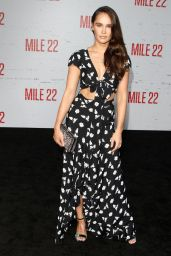 "Kristy Dawn Dinsmore – ""Mile 22"" Premiere in Los Angeles"