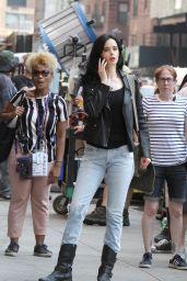 "Krysten Ritter - ""Jessica Jones"" Set in NYC 08/28/2018"