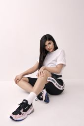 """Kylie Jenner - Adidas Originals Fall/Winter """"Falcon"""" Campaign 2018"""