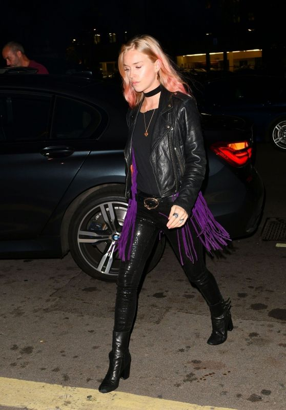 Lady Mary Charteris at Annabel's Members Club in London 08/25/2018