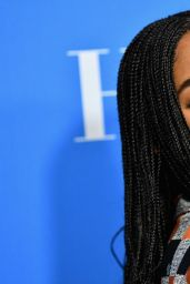Laura Harrier – HFPA's Grants Banquet in Beverly Hills 08/09/2018