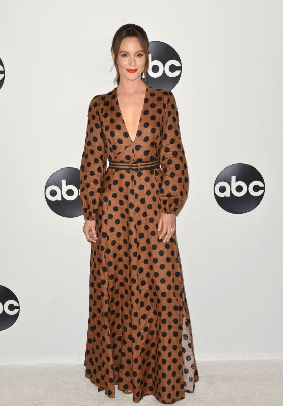 Leighton Meester – ABC All-Star Happy Hour at 2018 TCA Summer Press Tour in LA