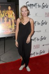 "Lela Edgar – ""Support The Girls"" Premiere in Los Angeles"