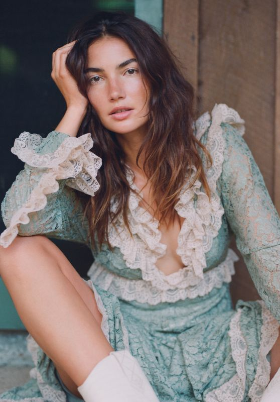 Lily Aldridge - Photographed for InStyle September 2018