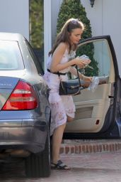 Lily Collins - Out in Los Angeles 08/15/2018