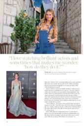 Lily James - Canary Wharf Magazine August 2018 Issue