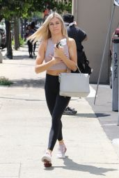 Lindsay Arnold at the DWTS Dance Studio in LA 08/21/2018