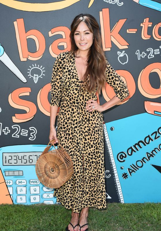 Lindsay Price – Amazon Back-to-School Event in the Pacific Palisades