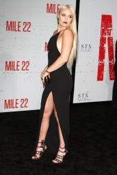 "Lindsey Vonn - ""Mile 22"" Premiere in Los Angeles"
