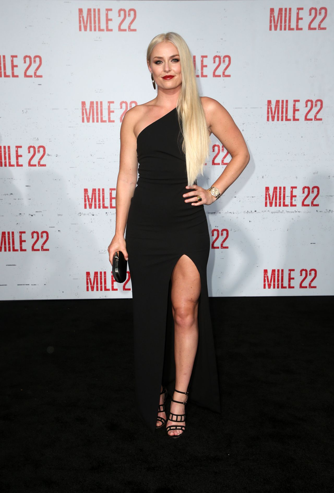 Lindsey Vonn Quot Mile 22 Quot Premiere In Los Angeles