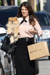 Lisa Vanderpump Shopping at James Perse in West Hollywood 08/14/2018