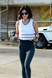 Lucy Hale - Heads to the Gym in Los Angerles 08/10/2018