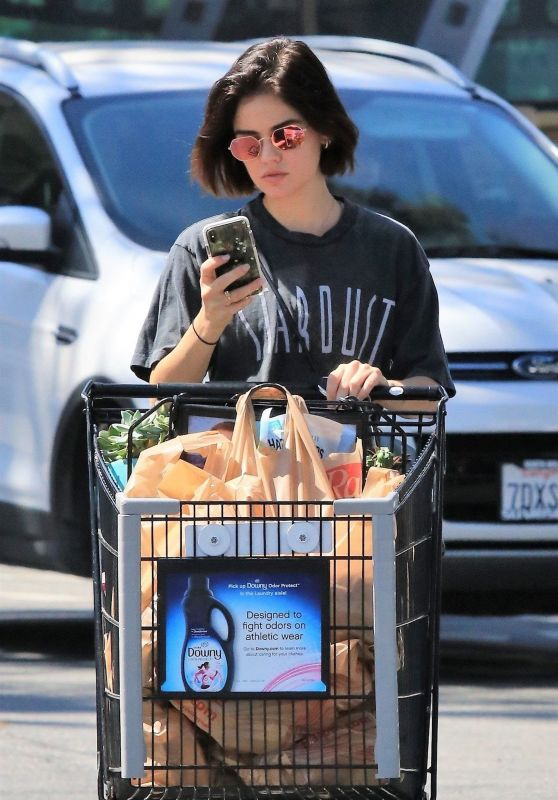 Lucy Hale - Shopping at Ralph