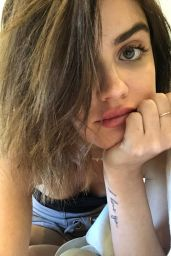 Lucy Hale - Social Media, August 2018