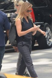 """Lucy Liu - """"Elementary"""" Set in NYC 08/24/2018"""
