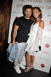 Lucy Mecklenburgh – The Thomas Twins 30th Birthday Party in Manchester