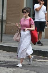 Madeleine Martin - Out in NYC 08/18/2018