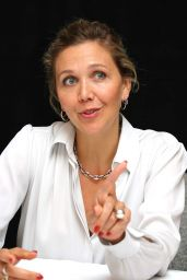 """Maggie Gyllenhaal - """"Kindergarten Teacher"""" Press Conference in NY"""