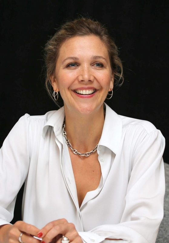 "Maggie Gyllenhaal - ""Kindergarten Teacher"" Press Conference in NY"