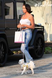 Mara Teigen Leaves the Andy LeCompte Salon in West Hollywood 08/10/2018