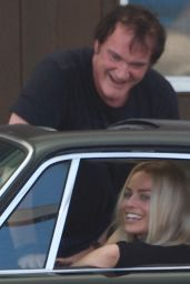 """Margot Robbie - """"Once Upon A Time In Hollywood"""" Set in Los Angeles 08/07/2018"""