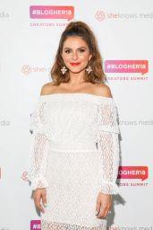 Maria Menounos – #Blogher Creators Summit in NY 08/08/2018
