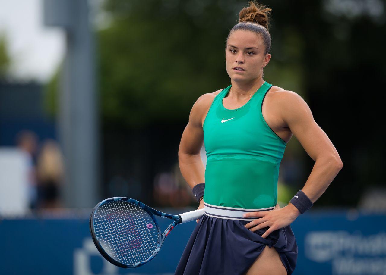 Maria Sakkari - 2018 Western & Southern Open in Cincinnati 08/14/2018 • CelebMafia