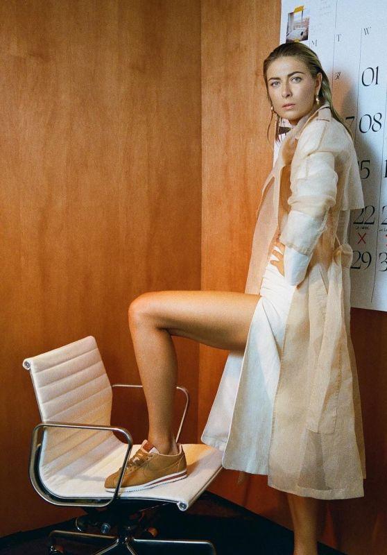 Maria Sharapova - Nike La Cortez - August 2018