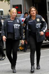 "Mariska Hargitay - ""Law and Order: SVU"" Set in Manhattan 08/24/2018"