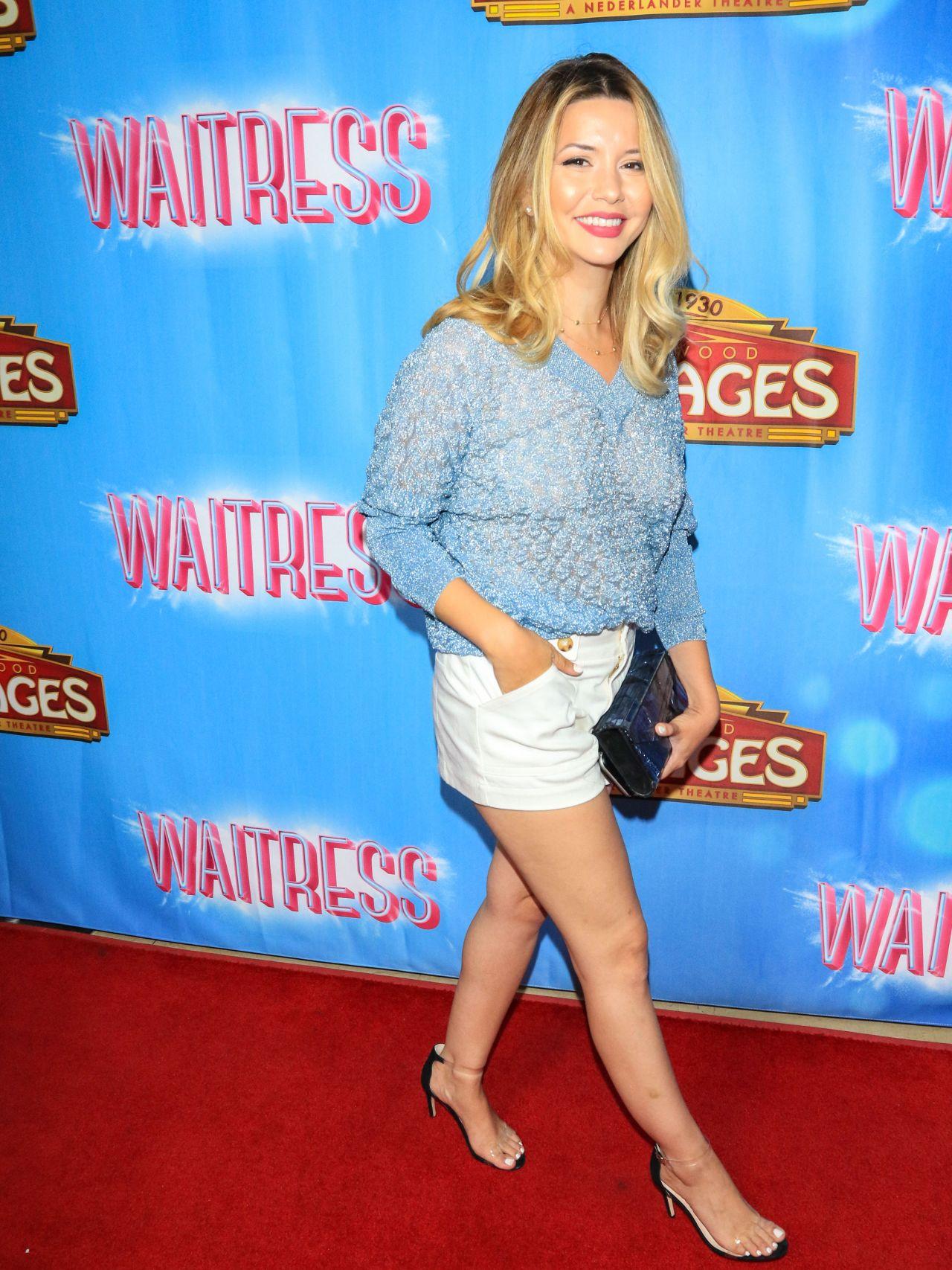 "Masiela Lusha – ""Waitress"" Premiere in LA"