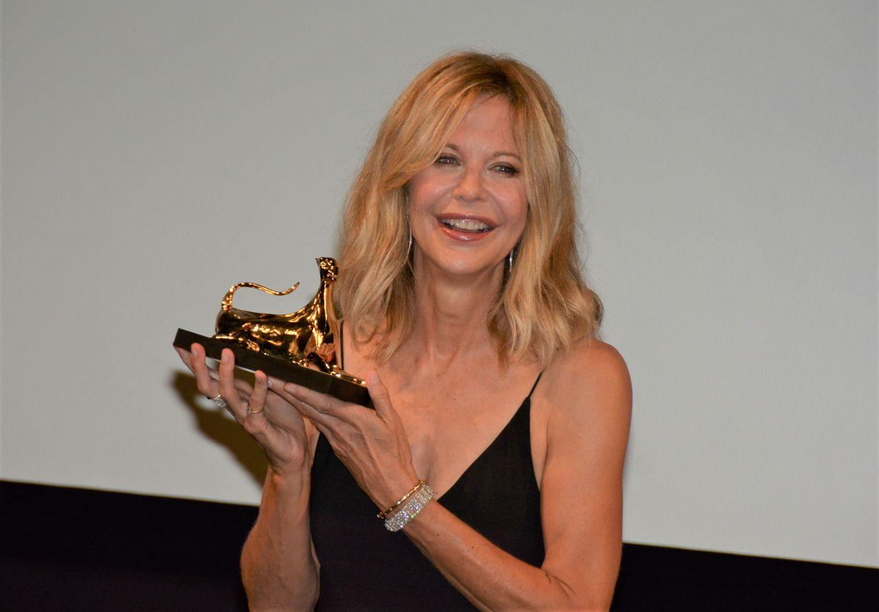Meg Ryan Awarded With The Leopard Club Award At The